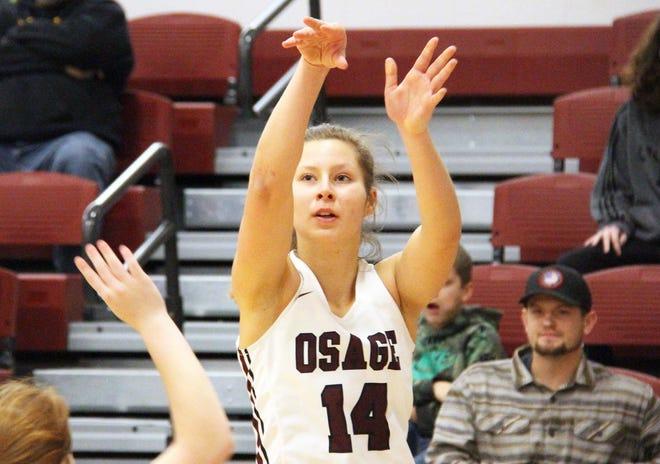 Osage senior Sara Wolf.