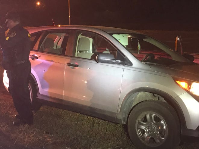 Ocala police are investigating a Thursday night shooting on Interstate 75.