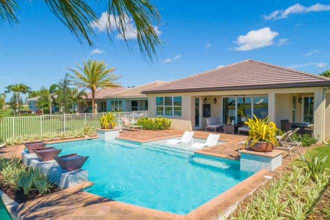 Trading in your Florida home for one that better fits your life stage comes with huge perks, especially if you decide to move to a resort-style community.
