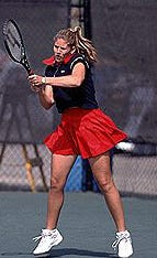 Jacki Farr reached the final 12 of the state tennis tournament as a senior for Freeport, holds the University of Illinois-Chicago record for most doubles wins and has been inducted into the UIC Hall of Fame.