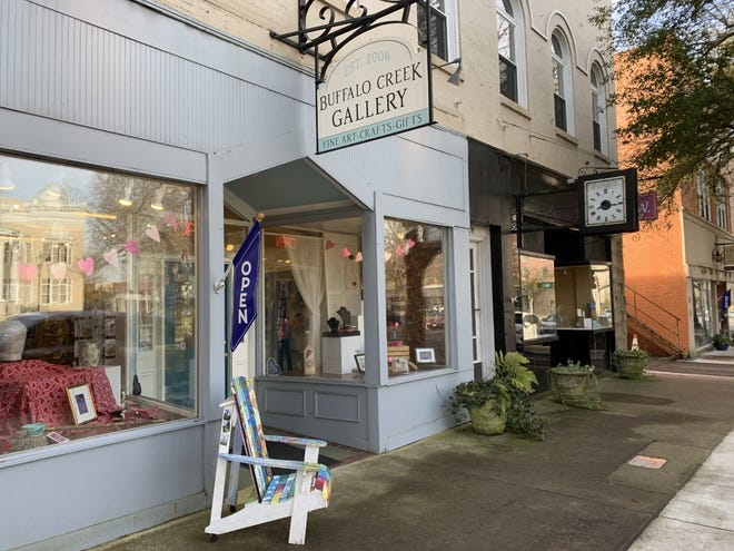 Buffalo Creek Gallery, located at 106 W. Warren St. in uptown Shelby, was home to Smith's Drugs where Black students held a sit-in on Feb. 18, 1960.