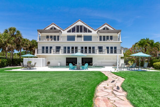 The former Schoenbaum estate at 5541 Gulf of Mexico Drive on Longboat Key recently sold for $6.75 million.