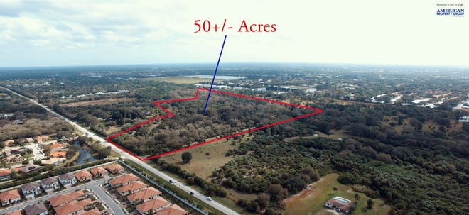 American Property Group of Sarasota Inc. is marketing the 50-plus acres on East Venice Avenue that had once been eyed as a future campus of Venice Regional Bayfront Health.