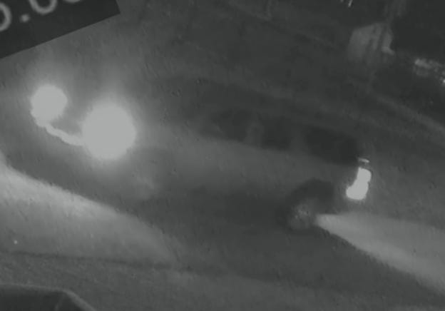 Topeka police late Thursday afternoon released this photo of a vehicle they are seeking in connection with a shooting committed about 4 a.m. Tuesday in East Topeka.