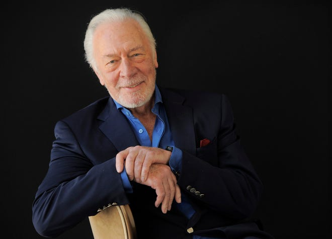Christopher Plummer poses for a portrait on July 25, 2013, in Beverly Hills, Calif.