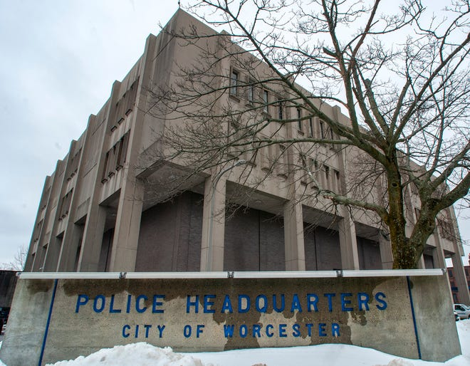 Worcester police headquarters in Lincoln Square on Friday.