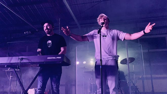 "Local music duo 50 Fifty, made up of Daniel Fulmer, left, and Kylan Smith, are holding a concert Friday at the Venue at Coosa Landing to celebrate the release of their new single ""BTM"" that comes out Feb. 14."