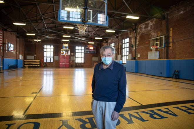 Bill Kaplan, founder of the Newburgh Armory Unity Center, at the site on Feb. 4. The center has offered its site to help other nonprofits during the pandemic.