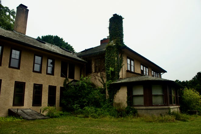 The Morse-Bradley Estate at Needham's Ridge Hill Reservation. Built in 1906 and acquired by the town in 1973, the house will be demolished under plans presented to the Select Board last month.