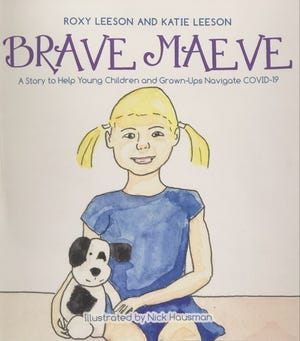 """'Brave Maeve,"""" written by Belmont mother Katie Leeson and her mother, Roxy Leeson of Natick."""