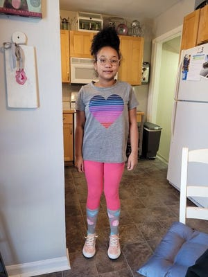 Carolyn Jones, 11, went missing from Marion Avenue in Reading on Wednesday night.