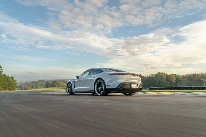 All-electric Porsche Taycan Turbo S