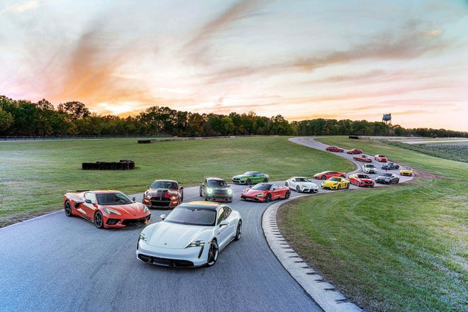 Eighteen new cars - representing the industry's state of the art - competed in the 14th annual, Car and Driver Lightning Lap.