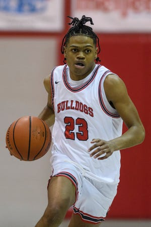 Julian Norris, shown here playing for Bosse in 2021, announced Tuesday he is transferring to a prep school in Missouri.