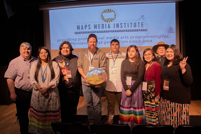 """The film """"Looking Forward from Yesterday: Fighting for Our Culture,"""" was selected as a finalist for this national award."""