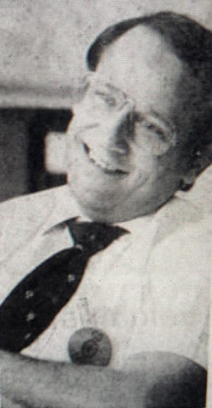 Former Newark City Schools principal Ray Kress, shown here in an Advocate file photo in 1984, died on Jan. 22.