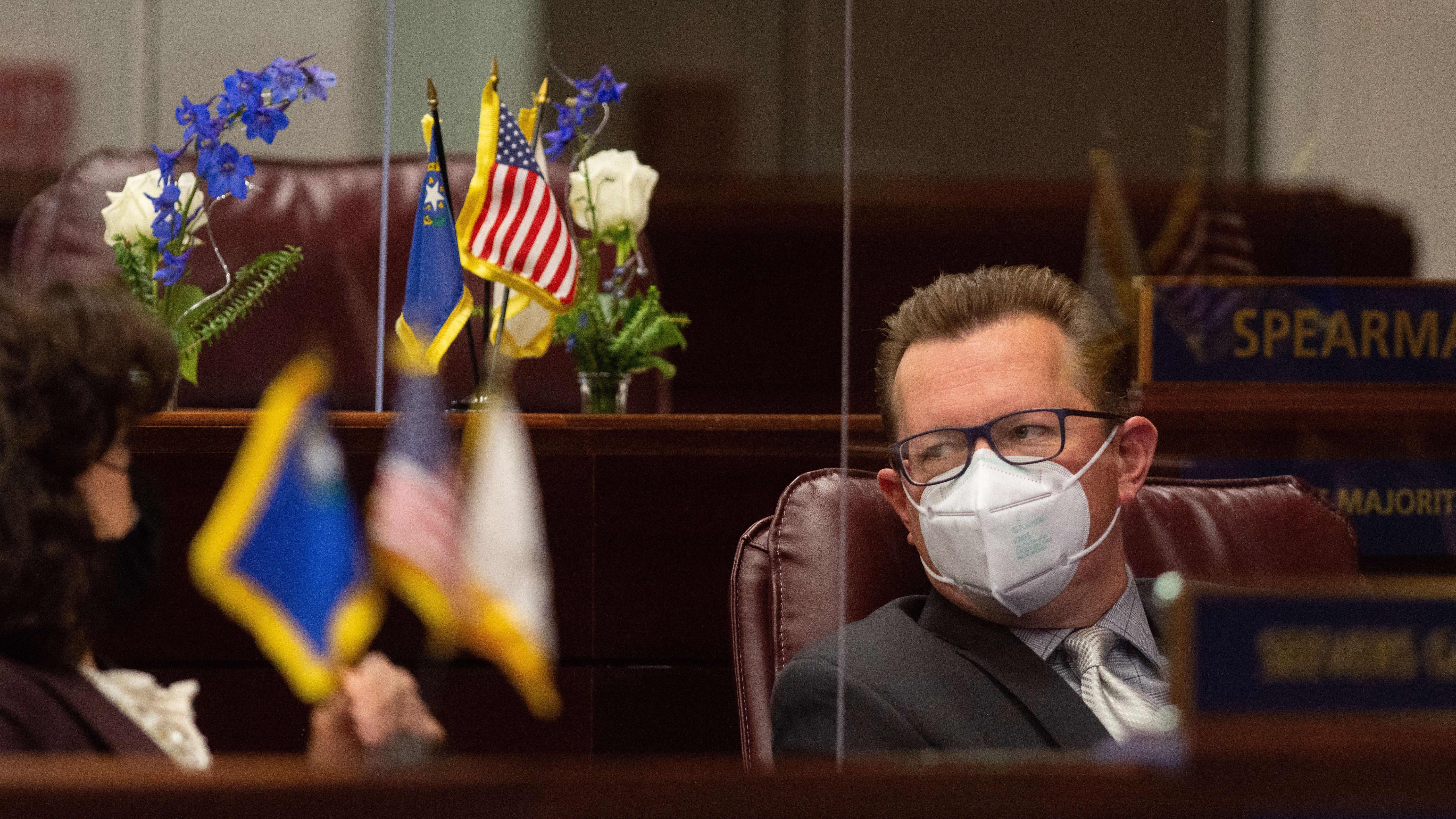 Nevada lawmakers wary raising DMV fees, property taxes