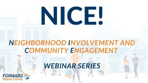 Neighborhood Involvement and Community Engagement