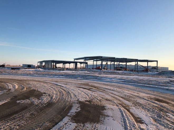 Tessier's Inc. construction in northwest Sioux Falls.