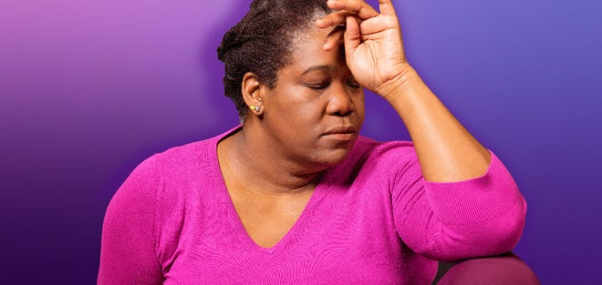 The three stages of menopause are: perimenopause, when ovaries stop releasing eggs; menopause, when a person has not had a menstrual period for 12 consecutive months; and postmenopause, the years following menopause.