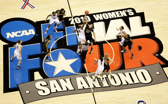 The women's Final Four was in San Antonio in 2010, and this year, the bulk of the NCAA tournament will take place in the city.
