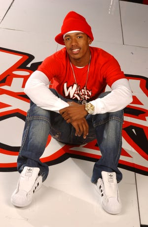 """Nick Cannon on the set of his new series """"Nick Cannon Presents Wild 'n Out."""""""