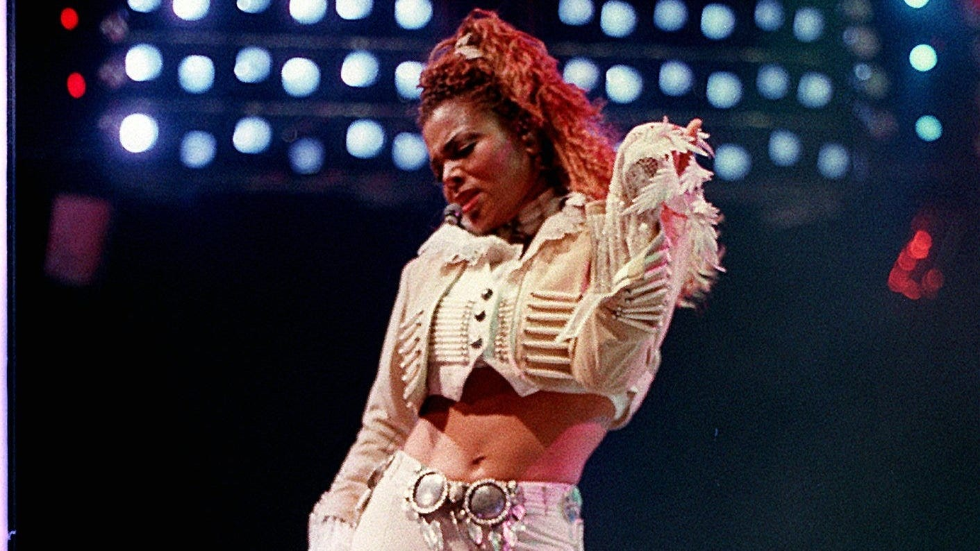 Janet Jackson: 'thankful' for fans after album 'Control ...