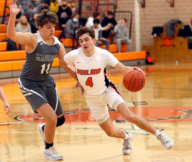 Ashland's Luke Denbow was named Ohio Cardinal Conference Player of the Year.