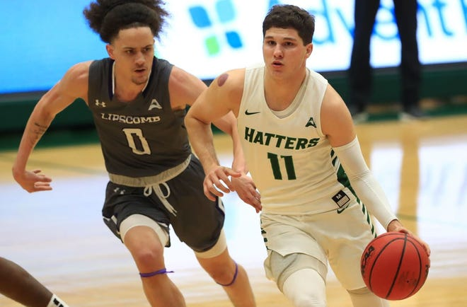 Stetson's Chase Johnston led the Hatters with 21 points in Friday night's win.