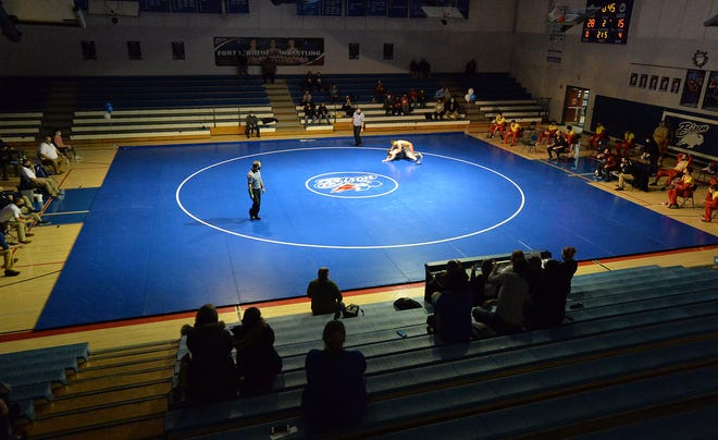 Fort LeBoeuf hosts Girard in a District 10 Class 2A team wrestling semifinal on Saturday in Waterford. The Bison claimed a 52-21 win.