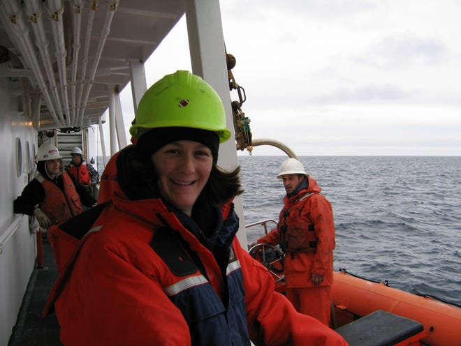 Jennifer Miksis-Olds, research professor and director of UNH's Center for Acoustics Research and Education, is studying how changing ocean soundscapes affect wildlife, from invertebrates to whales, in the oceans.