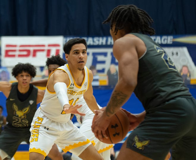 Kent State starting point guard Giovanni Santiago has made major strides since playing a limited role as a freshman last season.