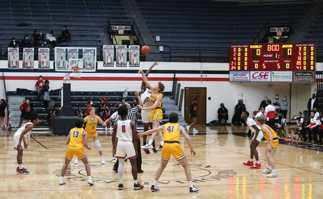 Jackson and McKinley met in the latest big game played at the Field House, as the two state-ranked teams met Feb. 5, 2021, with the Bulldogs winning. COVID-19 restrictions prevented a large crowd that night.
