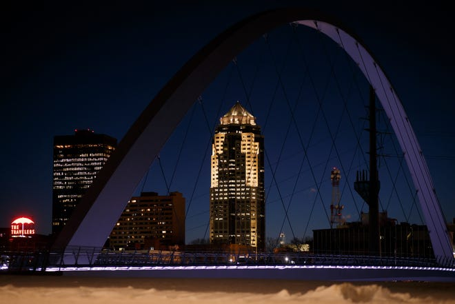 Des Moines' population has grown by more than 15% since 2010. The state as a whole has seen a population increase of 4.7%. Iowa's growth over the past five years is less than 1.5%.