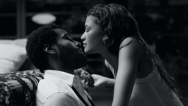"Netflix's ""Malcolm & Marie"" stars John David Washington and Zendaya."
