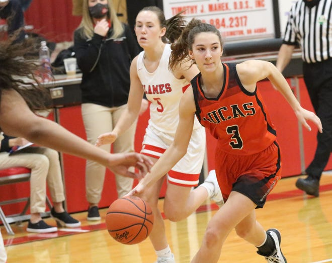 Lucas' Shelby Grover was named Division IV first team All-District 6.