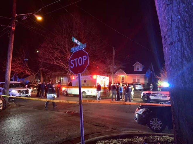 One person was killed and two were injured in a shooting at a Murfreesboro party at a duplex on Ewing Boulevard around 3 a.m. Saturday, Feb. 6, 2021.