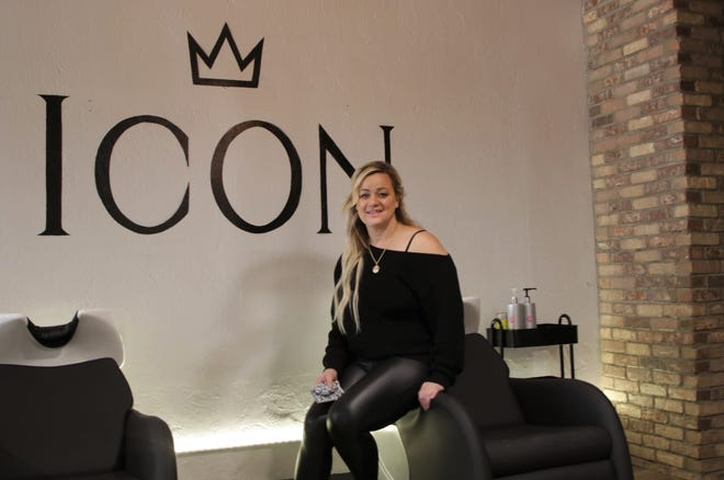 Icon Salon-Barber Shop owner Marcy Hower looks to help revitalize downtown Farmington in its recovery from the COVID-19 pandemic.
