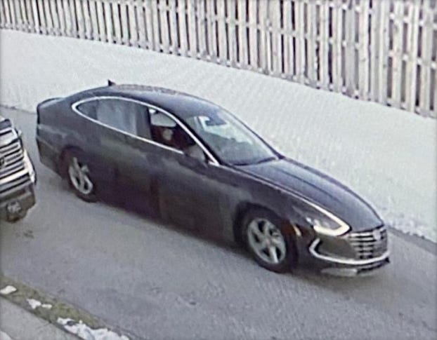 Spring Garden Township Police need help locating a vehicle involved in a shooting Thursday Feb. 6, 2021.