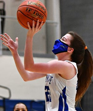 Ella Kale, seen here in a file photo, scored 23 points on Wednesday night in Spring Grove's rout of Lower Dauphin.