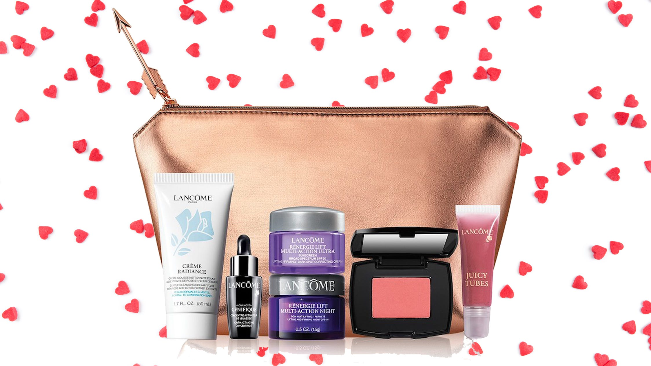 You can get a free 7-piece Lancôme gift with purchase right now—here's how