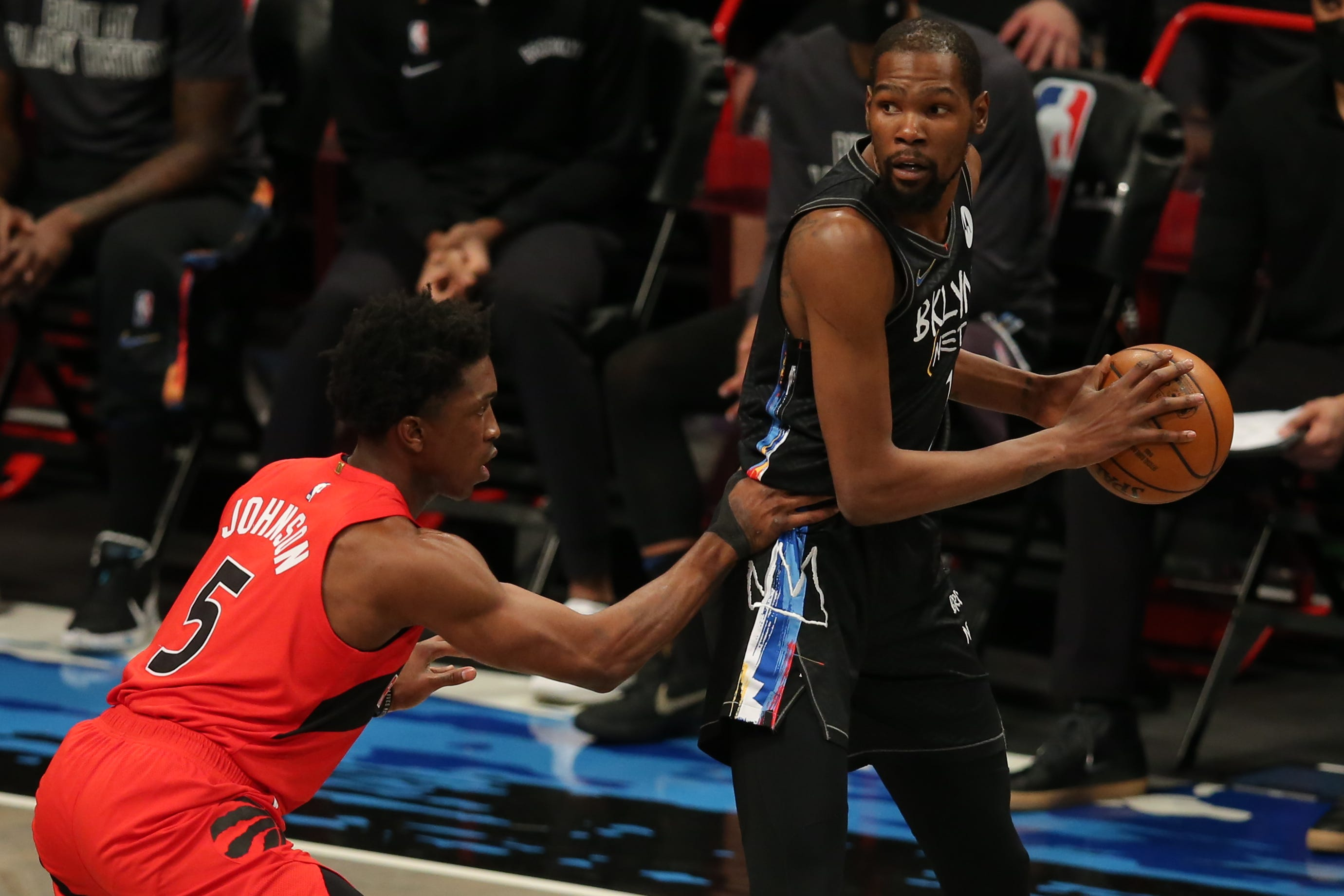 Nets  Kevin Durant doesn t start game, returns, then ruled out due to NBA health and safety protocols