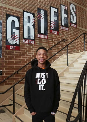 Li'Rique Barber, 15, is a student at Buchtel high school and an Akron Beacon Journal Make The Grade Amazing Teen.
