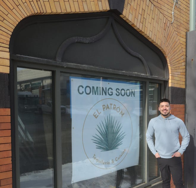 Luis Escudero, owner of El Patron Tequileria & Cuisine, will host the restaurant's grand opening this weekend at Mill and High streets in downtown Akron.