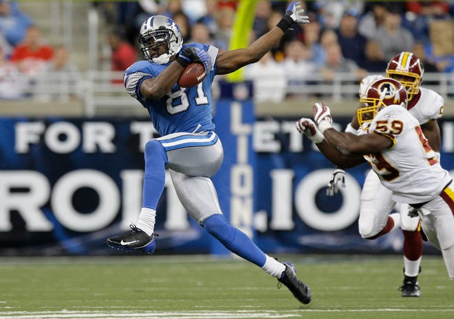Detroit wide receiver Calvin Johnson was a first-ballot selection, his mere nine years of playmaking excellence with the Lions more than enough to convince the panel.