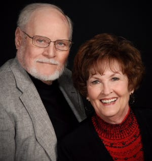 Don and Carolyn Parks have been married for 57 years and will celebrate this Valentine's Day at home at the Renaissance in Sherman.