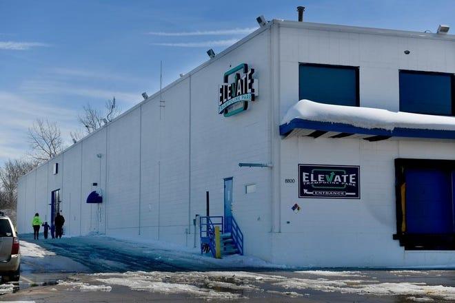 Elevate Trampoline Park at 8800 N. Allen Road in Peoria.