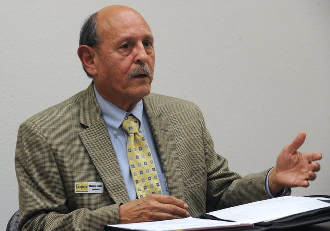 Retired San Joaquin County Administrator Manuel Lopez may be appointed as interim while the county searches for someone to fill the role permanently.