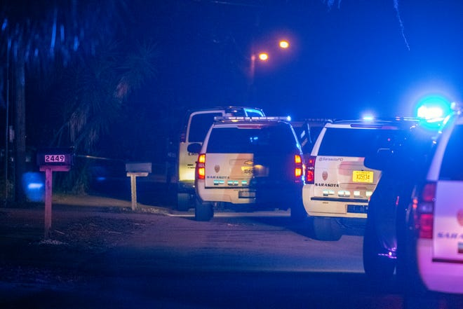 The Sarasota Police Department is investigating an officer-involved shooting in the 2400 block of Bay Street on Saturday that left a man and a woman dead.