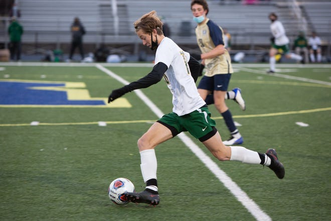 After scoring 25 goals in 16 games as a senior, Reynolds alum Asa Blake is headed to Spain to continue his career.